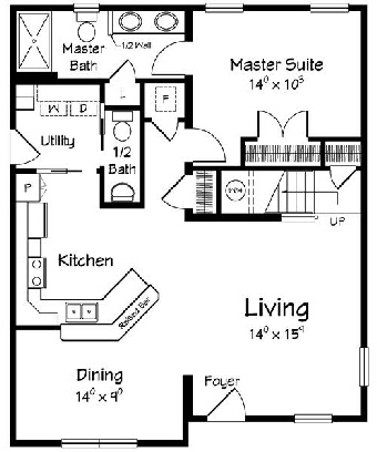 Dolphin1 Cape  Modular Home Floor Plan Designed For Coastal Communities