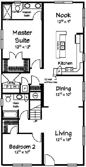 Spinnaker1 Cape  Modular Home Floor Plan Designed For Coastal Communities