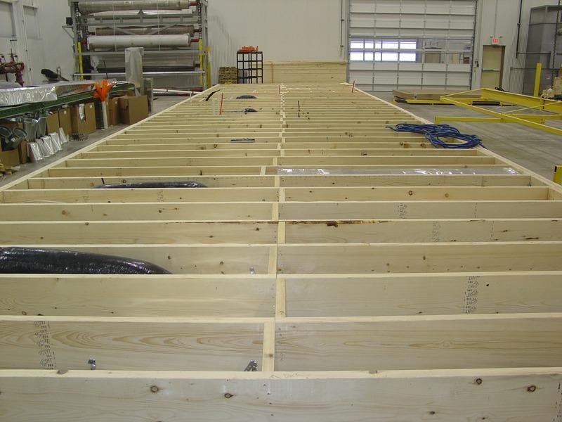 Pennwest modular homes why homes are better built inside for Wood floor joist bridging