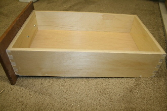 Pennwest Homes Custom Cabinetst Dove Tail Drawers